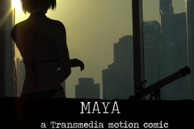 MAYA – a 360 VR motion comic for the Oculus Rift (click here)
